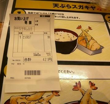 天ぷらスガキヤ:店内1