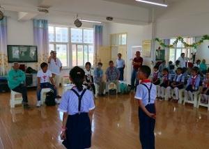 s-20180610川北小学校訪問1