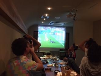 サッカー観戦セネガル