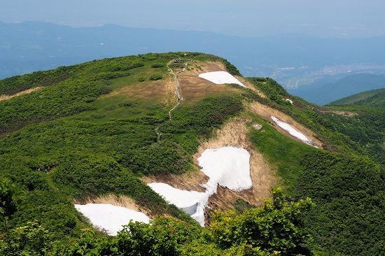 青雲岳稜線