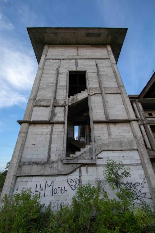 バリ島 廃墟-2