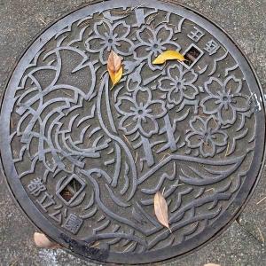 Manhole Cover of Tokyo Metropolitan Park