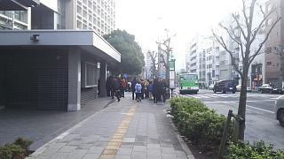 20180203ラーメン二郎三田本店(その1)