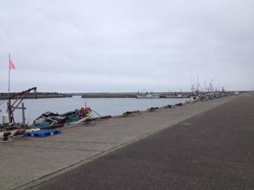 稚咲内漁港があります
