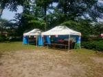 ホタル祭り 本部テント