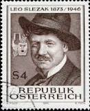 Stamp Leo Slezak