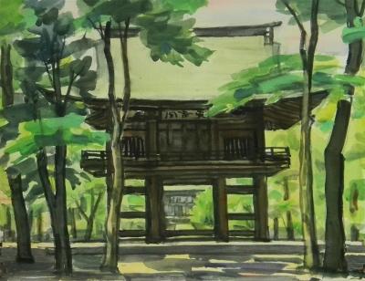 多福寺山門