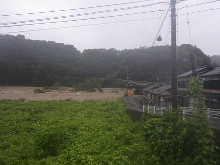 西日本豪雨被災