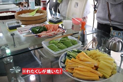 16手巻き寿司の具