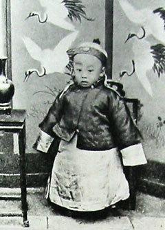 故宮入りする前の幼い溥儀