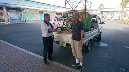 宇和島に自転車を取りに行く