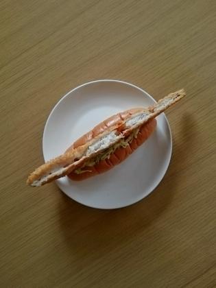 ジャンボ白身魚フライドッグ