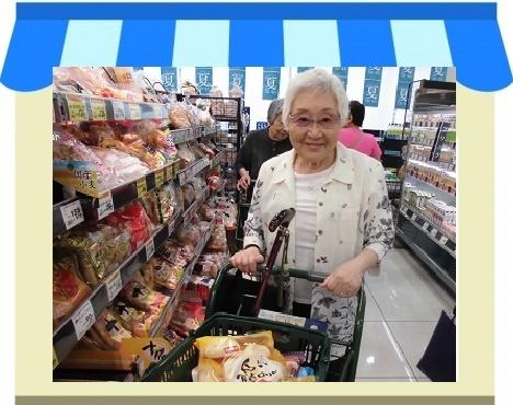 スーパー買い物1
