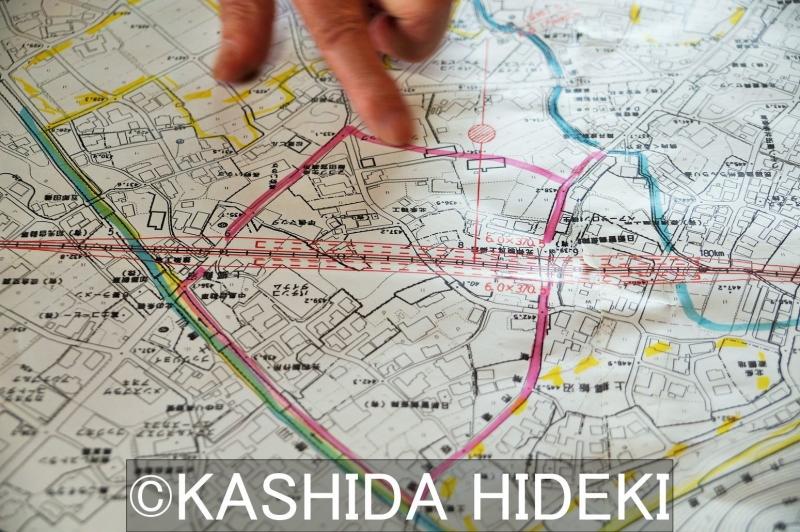 リニア長野県駅と周辺開発予定地