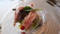 プロシュート、モッツァレラ、季節野菜