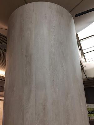 ダイノック施工柱