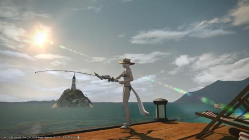 釣りをしたり