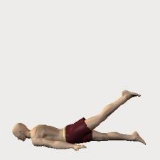 伏・股伸展・膝伸展・自動 大