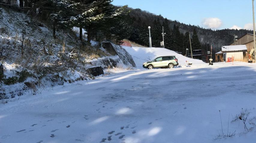 剣山スキー場、標高1360m