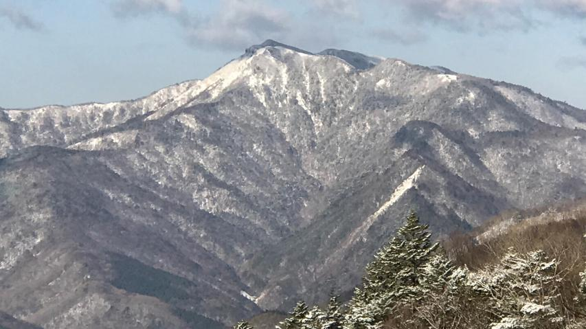 高知県最高峰の三嶺