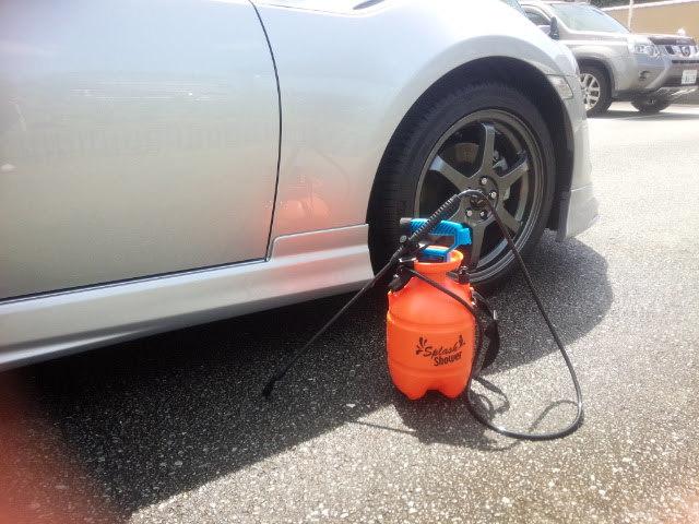 シャワー洗車01
