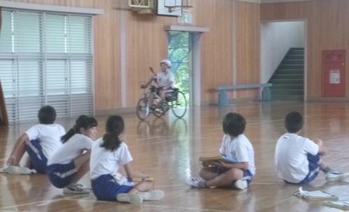 和田小ハンドバイク