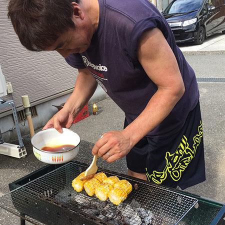 焼きトウモロコシ