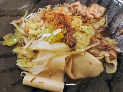 ビャンビャン麺(腰帯麺)@朋友雑穀食府