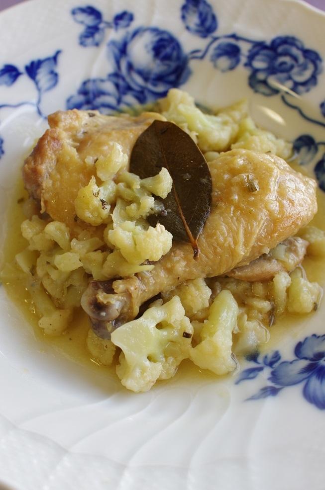 鶏のハーブ煮込み2