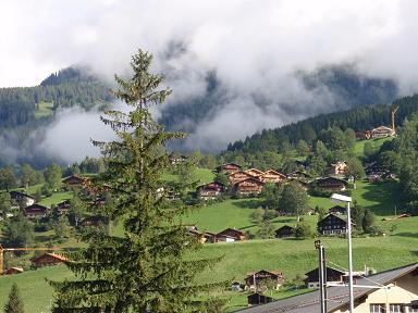 スイスの街並