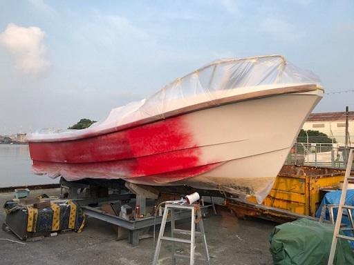 IMG_0157船体塗装ー3