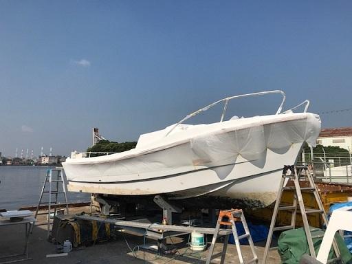 IMG_0145船体塗装ー1