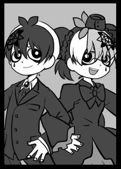 シヨンとマオ