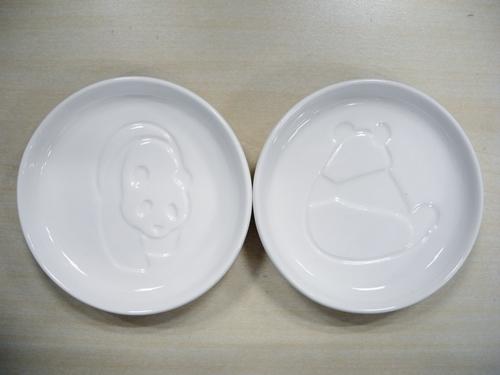 パンダ醤油皿2