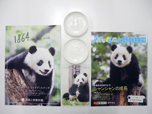パンダ醤油皿3