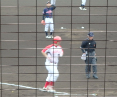 P5171101H・プラン1回裏2死一塁から4番が左越え本塁打を放ち2点先制