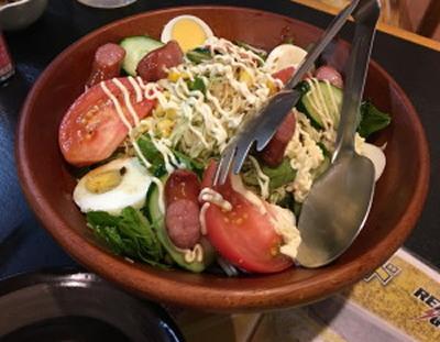 2018-05-22 18.06.36野菜サラダ