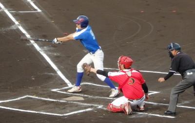 P5291817同回2死二塁から5番が左翼線二塁打を放ち1点追加