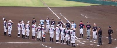P5312003一塁側熊本市教祖 三塁側球楽會