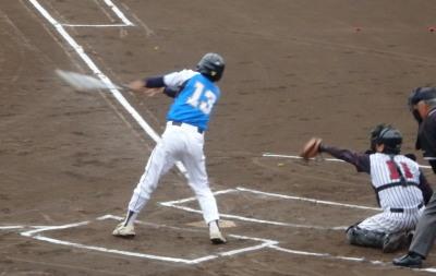 P5312014熊本市教祖1回表2死三塁から5番が三振で先制ならず