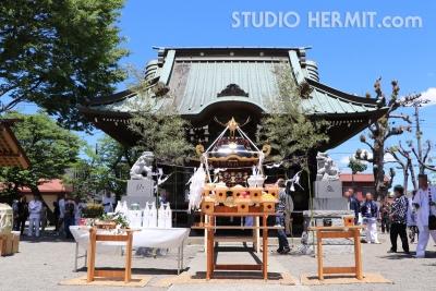 中新田諏訪神社神輿18