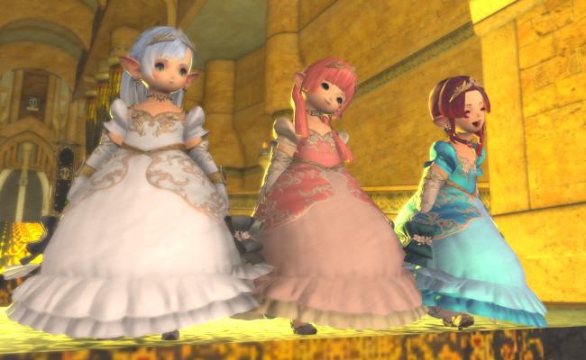 お姫様たち。