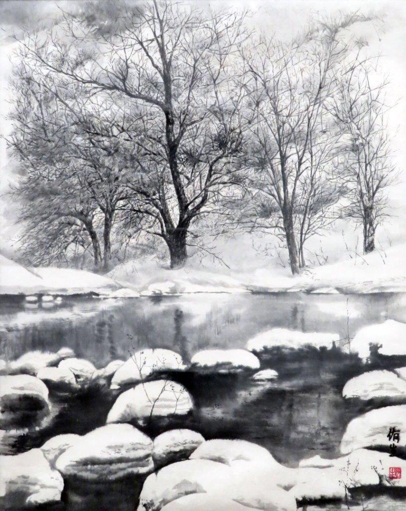 齋藤侑生 冬の池 (1)