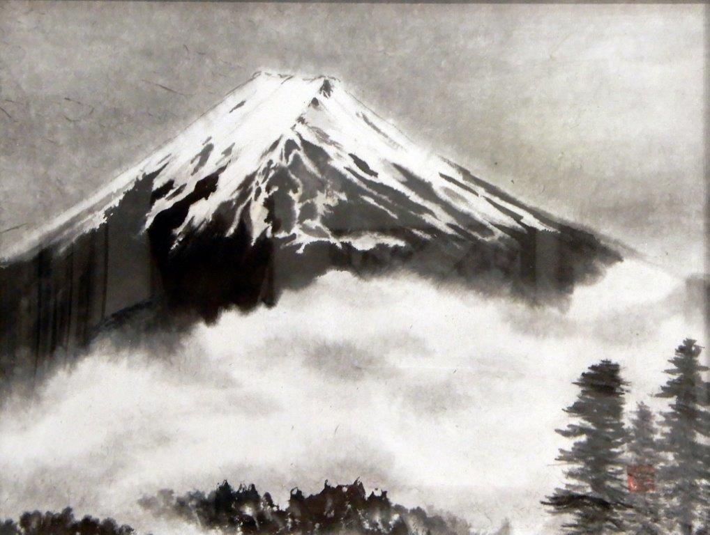 井坂道子 富士山 (2)