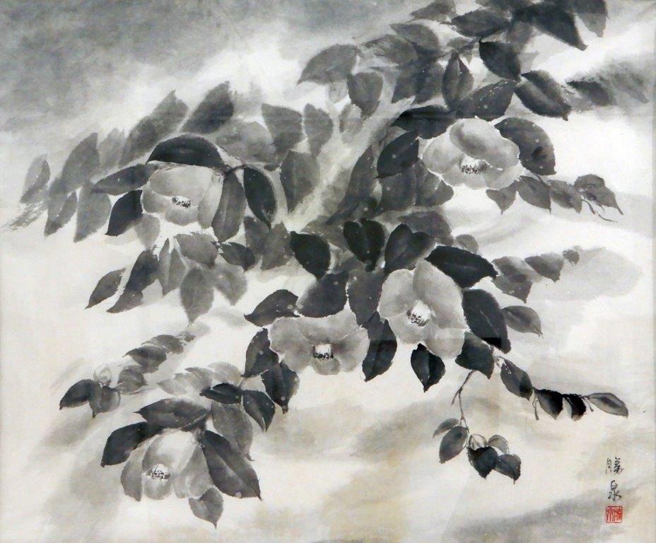 小池勝泉 雪椿 (2)