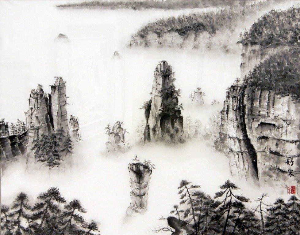 常盤好泉 武陵源天子山 (2)