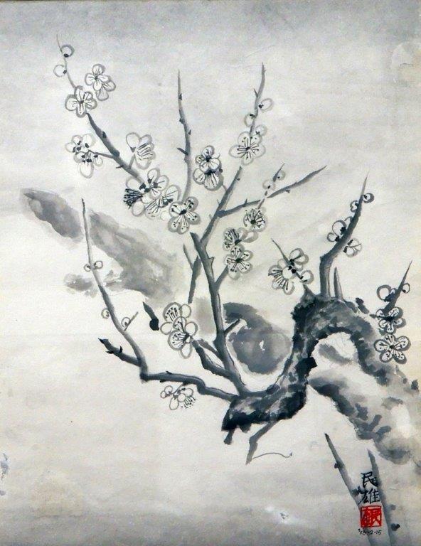 水野民雄 梅花 (3)