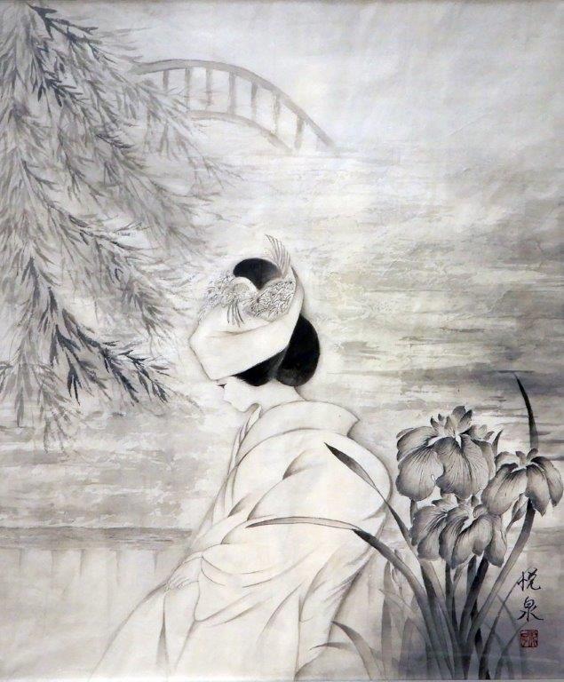 青木悦泉 水郷の花嫁 (2)