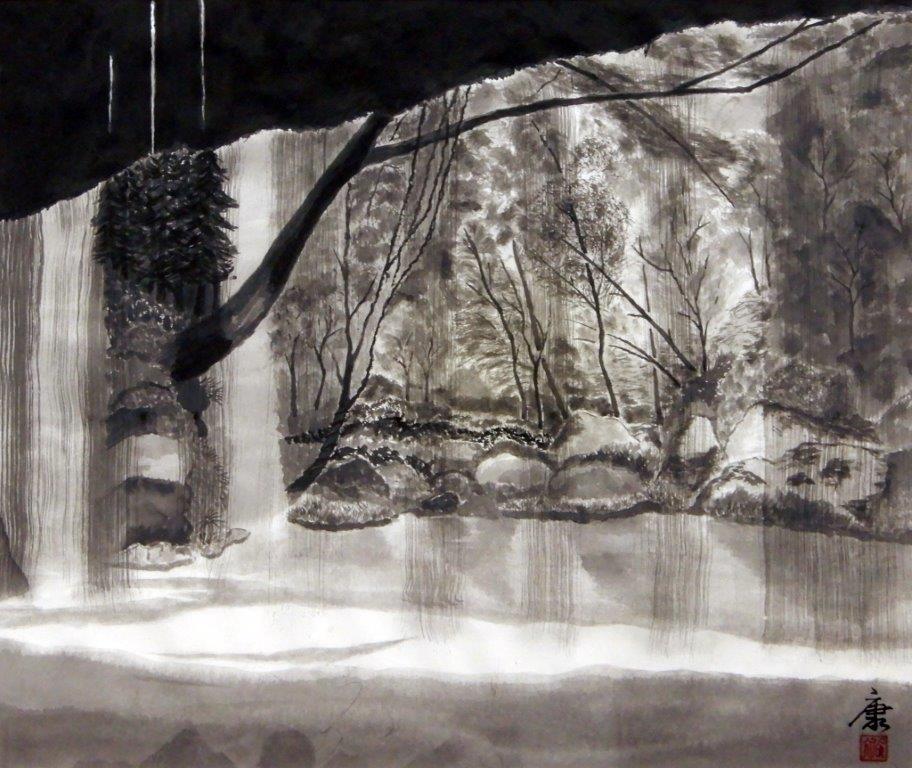 前橋康裕 裏見の滝 (3)