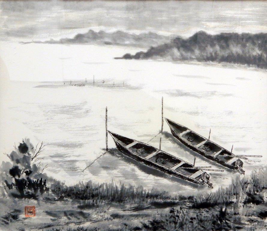 平澤正三 舟のある風景 (2)